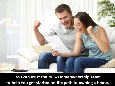 You can trust the NIFA Homeownership team to get you on the right track